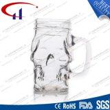 380ml Mok van het Bier van het Glas van de Vorm van de schedel de Duidelijke (CHM8028)