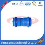 La norme ISO2531, FR545, FR598, BS4772 Raccord de tuyauterie en fonte ductile collier pour tuyau de PVC