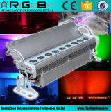 9*3W im Freien RGB Farbe, die im Freienled-Wand-Unterlegscheibe-Licht mischt