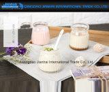 Vertikal-Streifen nettes Nachtischcruets-Pudding-Joghurt-Milch-Gelee-Glas-Cup