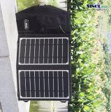 8W 5V portátil plegable cargador solar flexible para teléfonos celulares / el Powerbank / tableta con el USB