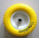 3.50-4 3.50-5 3.50-6 4.00-6 pneumático livre liso da espuma de 4.00-8 plutônio