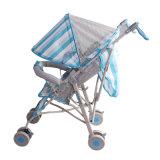Fabricante Foldable aprovado do Pram do carrinho de criança de bebê do frame de aço do GV