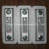 Calibro di olio di vetro di vista con il termometro