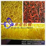 Stuoia della parte posteriore della gomma piuma del PVC che fa fabbricazione della macchina (1220mm)