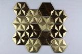 Promotion de la chaud produit Miroir mosaïque en acier inoxydable pour la décoration intérieure