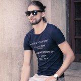 Le notizie progettano il cotone di buona qualità/il fornitore di Colothes della maglietta Printted dello Spandex