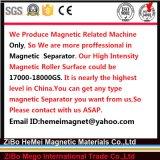 De droge Separator van de Trommel van het Poeder Permanente Magnetische, de Verwijdering van het Ijzer van het Plastic Materiaal