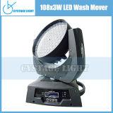 108*3W LED RGBW lavar moviendo la cabeza el Equipo de DJ (CY-LMH108)