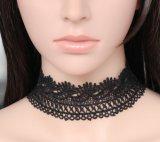 Cachemire del collare del merletto dell'annata con la collana a catena corta Chocker