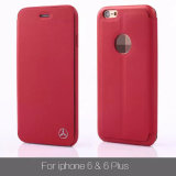 iPhone6를 위한 매우 Thin TPU Silicone Flip Case Matte Rubberized Cover