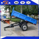 Migliore rimorchio del trattore agricolo delle due rotelle con il capovolgimento dell'unità