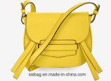 Design PU Saco sela o saco do corpo transversal das mulheres