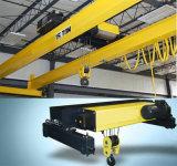 Fabricante de la fábrica grúa de arriba de la viga del doble de 10 toneladas