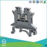 Conetor de cabo dos blocos terminais de parafuso do trilho do RUÍDO de Utl 1.5mm2