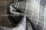 El hilado teñido, escoge la tela echada a un lado de la tela escocesa T/R, 220GSM, 63%Polyester 33%Rayon 4%Spandex