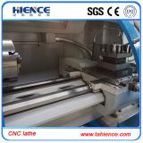 Torno da maquinaria do CNC do baixo custo com alimentador Ck6140A da barra