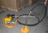 Vibratore per calcestruzzo portatile del motore di benzina di combustione interna per costruzione