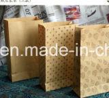 Bolsa de papel de encargo vendedora caliente de la Navidad