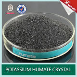 Solubility 100%, fertilizante de Humate do potássio do produto do tipo de X-Humate Humic do potássio de Fulvic
