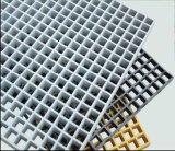 Gradeamento de fibra de vidro para as plataformas