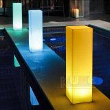 結婚式軽い表LEDのセンターピースの装飾的な床ランプシリンダー