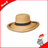 Chapéu flexível da borda larga que orla o chapéu