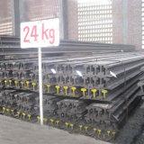 Fornitore d'acciaio di vendita caldo della guida della ferrovia chiara 24kg in Cina