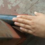 13X3 4.80/4.00-8 una rotella di gomma solida da 26 pollici