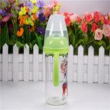 бутылка широкого младенца шеи 180ml стеклянная с ручками