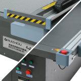 Machine de coupe automatique en cuir CNC avec deux têtes et convoyeur