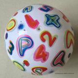9 بوصة زاويّة [بفك] لعبة قابل للنفخ يشبع طباعة كرة