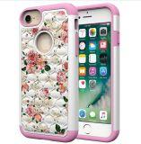 Новые покрашенные плитки случая мобильного телефона полными iPhone 8 аргументы за раковины мобильного телефона звезд