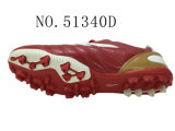 Numéro 51340 hommes et Madame Shoes Football Shoes Stock