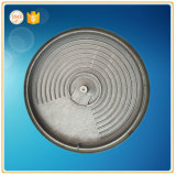 Fonte grise moulant la plaque chaude pour le poêle électrique