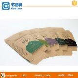カスタムロゴによって印刷されるクラフト紙の石鹸ボックス