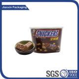 Grosser Plastikkasten für das Schokoladen-Verpacken