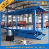 La doppia piattaforma idraulica stazionaria Scissor la piattaforma dell'elevatore dell'automobile