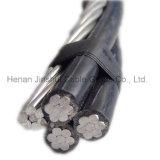 L'alluminio ambientale di bassa tensione lega la memoria con un cavo della posizione di folle di AAAC