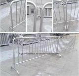 Портативная загородка управлением проволочной изгороди баррикады металла