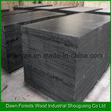 Brown usado construcción o la película negra hizo frente a la madera contrachapada