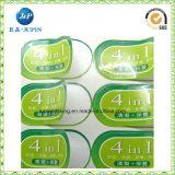 Documento ed etichette adesive stampate plastica (jp-s169)