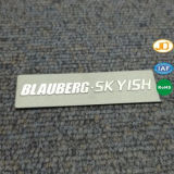 Плиты изготовленный на заказ логоса письма названные персонализировали Nameplate для сумки мешка