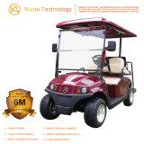 Seater 2+2のセリウムの証明書が付いている電気アルミニウムシャーシのゴルフ車