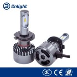 Alta luminosidade parte automática dos faróis LED COB carro 6000K Aluguer de luz do farol H1 H3 H4 H7 H11 9005 9006 9012