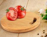 Planche à découper en bambou Whole-Piece hacher la salade d'administration pour bébé