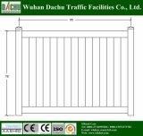 Различные виды белой загородки PVC