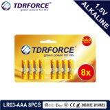 1.5volt Non-Rechargeable Droge Batterij van China van Vervaardiging lr6/Am-3 met ISO Goedgekeurde 12pack Ce/ISO
