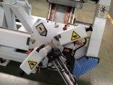 Cuatro de la ventana de aluminio CNC de cabezal máquina engastados de puertas