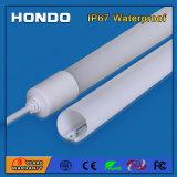Imperméable IP67 600mm/900mm/1200mm/1500mm T8 LED lumière fluorescente pour salle de bains